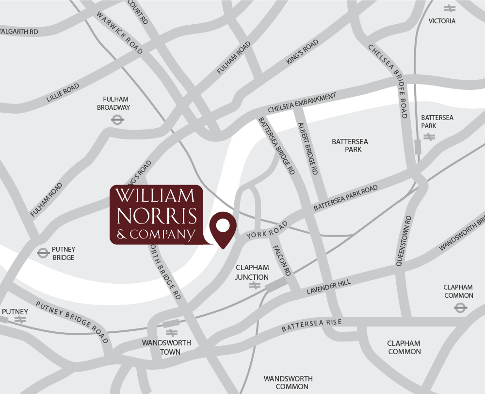 Map of William Norris & Company